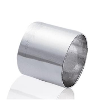 Bague argent massif plate tube
