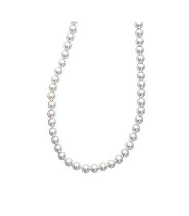Collier chute de perles de Majorque