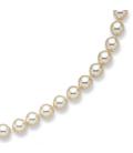 Bracelet perles de Majorque fermoir plaqué or